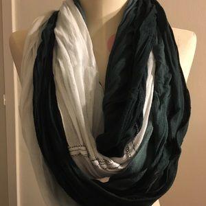 Ombré infinity scarf